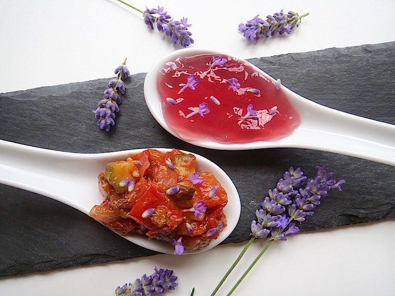 Lavendelgelee, Lavendelratatouille