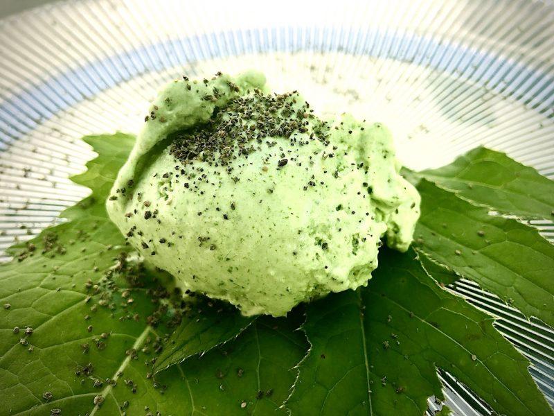 Kohldistel-Eis